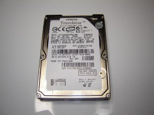 "Hitachi HTS548060M9AT00 60GB IDE/ATA 2.5"" 5400 RPM Notebook HDD Hard Drive"