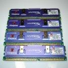 Kingston HyperX 2GB 4x512MB DDR PC 3200 184-Pin 400 Dual Channel Desktop Memory KHX3200A/512R