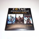 New ZOTAC Assassin's Creed 3-Game Pack PC Games