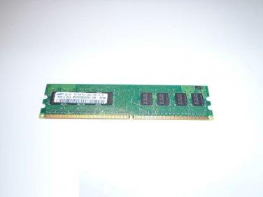 Dell Optiplex 745 755 Samsung 1GB 1Rx8 PC2-5300U M378T2863DZS-CE6 667MHz DDR2 PC Ram Memory
