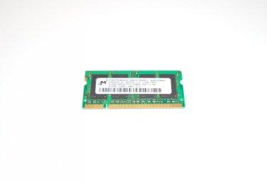 Micron 512MB PC2-3200S DDR2 200-Pin MT8HTF6464HDY-40EA3 SODIMM RAM Memory
