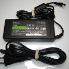 Genuine OEM Sony PCGA-AC19V1 19.5V 3A Notebook Ac Adapter