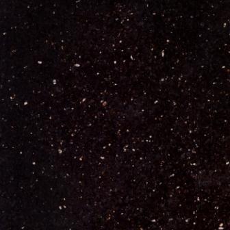 Granite Tile 12x12 Black Galaxy Polished