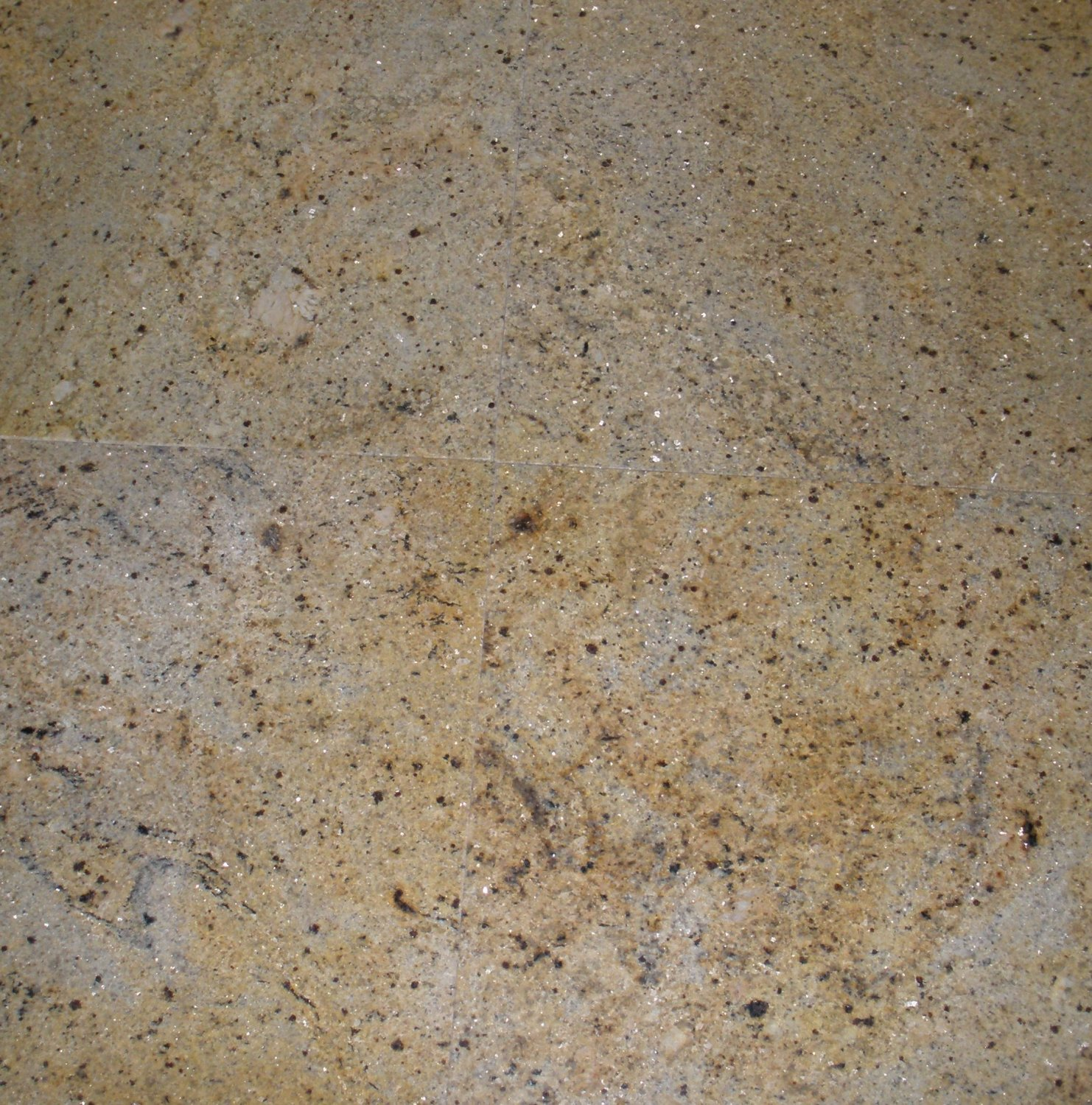 Granite Tile 12x12 Kashmir Gold Polished