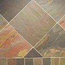 Slate Tile 8x8 Multi Select Polished
