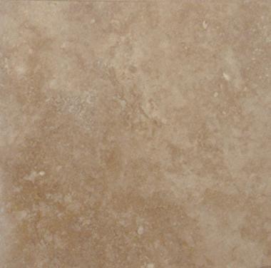 Travertine Tile 16x16 Tuscany Walnut Polished