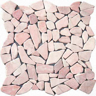 Pebbles 16x16 FLAT - BUFF MARBLE
