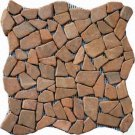Pebbles 16x16 FLAT - TAN MARBLE