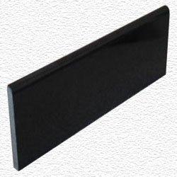 Granite Edge Piece 12x4x3/8 ABSOLUTE BLACK BULLNOSE