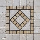 Medallion 12x12 TM12T-Tuscay Classic and Tuscany Gold
