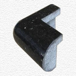 Granite Edge Piece 3x1.75x1.18 BLACK GALAXY PRESCOTT OUT CORNER