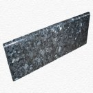 Granite Edge Piece 12x4x3/8 BLUE PEARL BULLNOSE