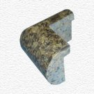 Granite Edge Piece 3x1.75x1.18 DESERT BROWN PRESCOTT OUT CORNER