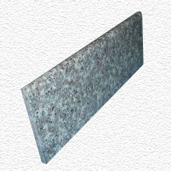 Granite Edge Piece 12x4x3/8 JAVA BROWN BULLNOSE