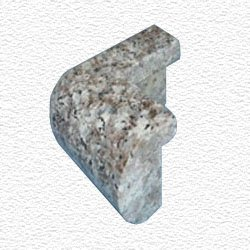 Granite Edge Piece 3x1.75x1.18 JAVA BROWN PRESCOTT OUT CORNER