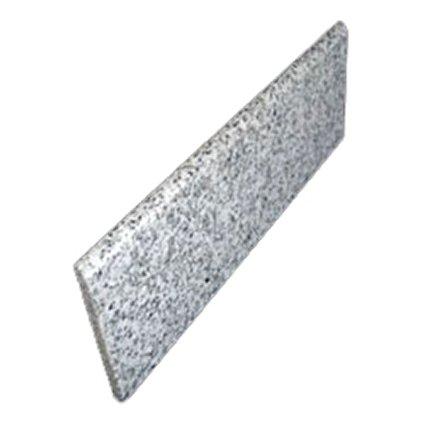 Granite Edge Piece 12x4x3/8 WHITE LEOPARD BULLNOSE