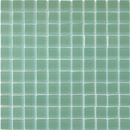 Mosaics 1X1 GLASS GREEN (Crystallized Blend) 12x12
