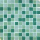 Mosaics1X1 GLASS GREEN BLEND (Crystallized Blend) 12x12