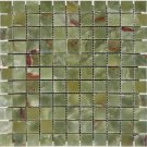 Mosaics 1X1 ONYX GREEN ONYX (Polished) 12x12