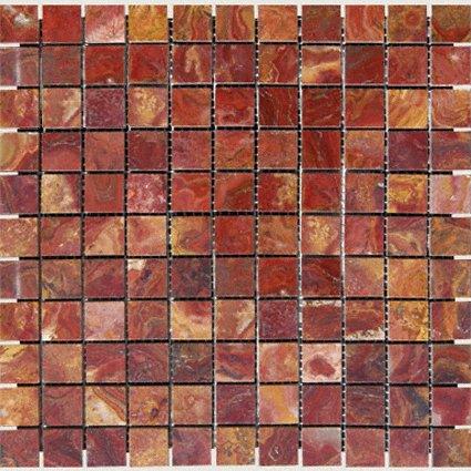 Mosaics 1X1 ONYX RED ONYX (Polished) 12x12