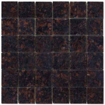 Mosaics 2X2 GRANITE TAN BROWN (Polished) 12x12