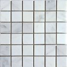 Mosaics 2X2 MARBLE CHINA CARRARA (Honed) 12x12