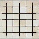 Mosaics 2X2 MARBLE CREMA MARFIL (Polished) 12x12