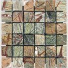 Mosaics 2X2 MARBLE RAIN FOREST (Tumbled) 12x12
