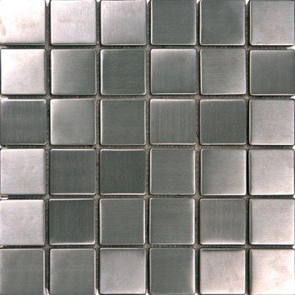 Mosaics 2X2 METAL SILVER (Matte) 12x12