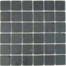 Mosaics 2X2 SLATE BLACK (Tumbled) 12x12