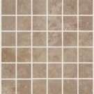 Mosaic 2X2 TRAVERTINE TUSCANY WALNUT (Tumbled) 12x12