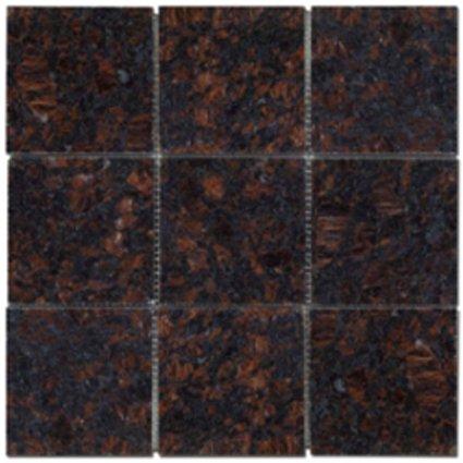 Mosaic 4X4 GRANITE TAN BROWN (Polished) 12x12