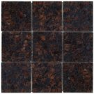 Mosaic 4X4 GRANITE TAN BROWN (Polished) 12x12