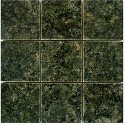 Mosaic 4X4 GRANITE VERDE BUTTERFLY (Polished) 12x12