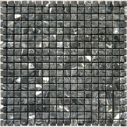 Mosaic 5/8 MARBLE MYSTIQUE BROWN (Tumbled)12x12