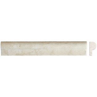 Edge Piece 1x2x12  CREMA MARFIL RAIL MOLDING (Honed)