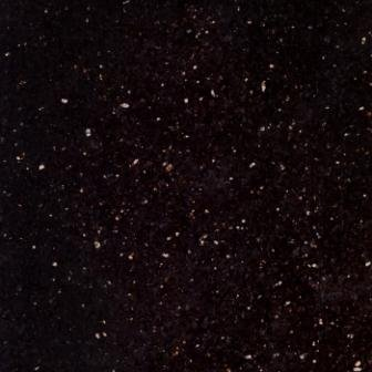 Granite Tile 24x24 Black Galaxy Polished