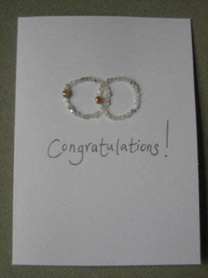 Handmade Card - Congratulations