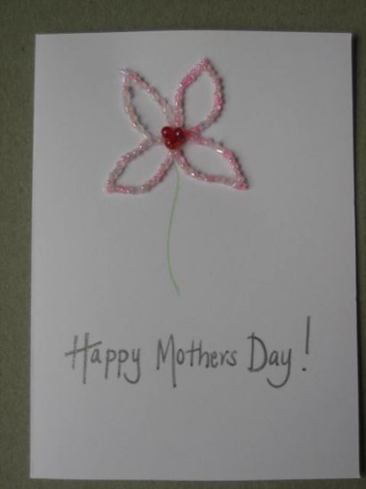 Handmade Card - Happy Mothers Day