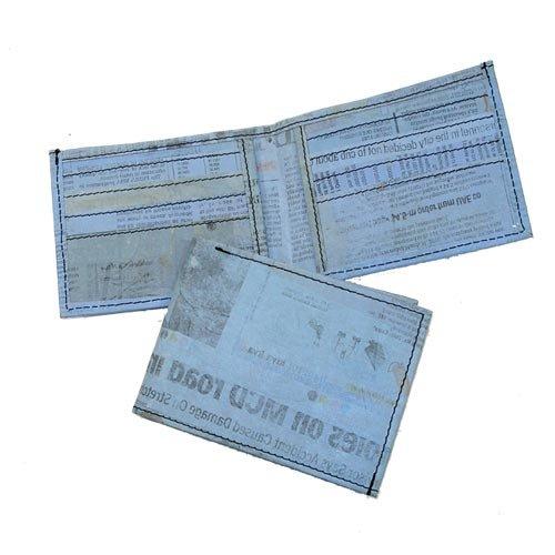 Light Blue Bifold Wallet