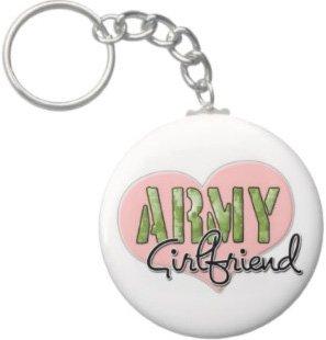 2.25 Inch Army Girlfriend Keychain