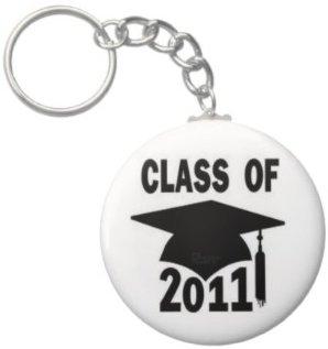 2.25 Inch Class of 2011 Keychain