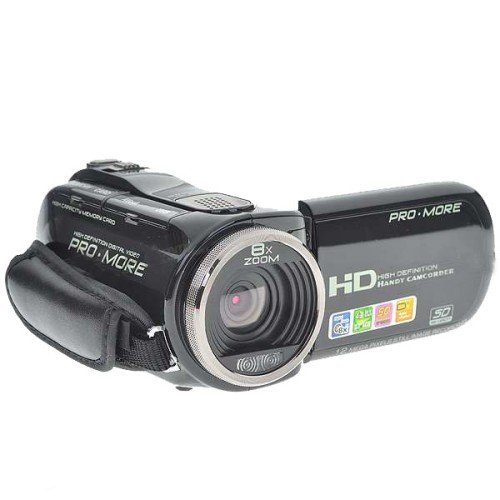 """2.7"""" TFT LCD 5.0MP CMOS Digital Video Camcorder w/ 8X Digital Zoom/TV Out/SD Slot (4*AAA)"""