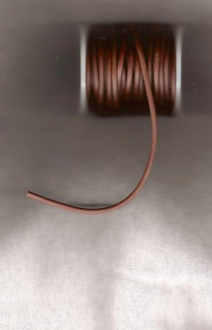 Rubber Cord - Brown