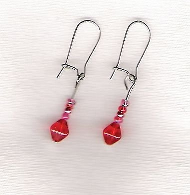 Cherry My Favorite Flavor....Earrings