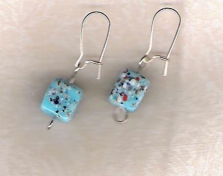 Fun Cube Earrings