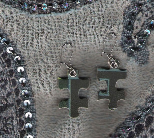 Twilight Puzzle Earrings