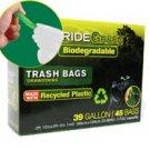 39-Gallon Drawstring PrideGreen™ Biodegradable Trash Bags