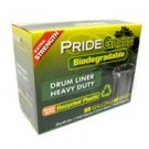 55-Gallon Drum PrideGreen™ Biodegradable Trash Bags with Ties