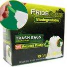 13-Gallon Drawstring PrideGreen™ Biodegradable Tall Kitchen Bags